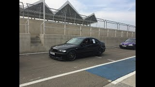 BMW e46 330i Time Attack On board POV GoPro HD