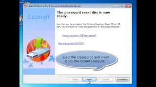 Windows 7 Password Recovery Freeware Lazesoft