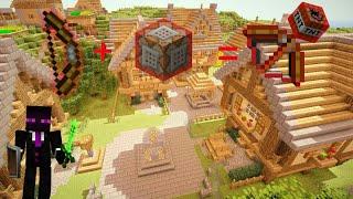 Flechas explosivas de TNT!!! (Truco con bloque de comando) Minecraft Pe 1.1.1
