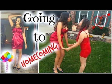 Vlog-Going to Homecoming! ft.xxmakeupiscoolxx!
