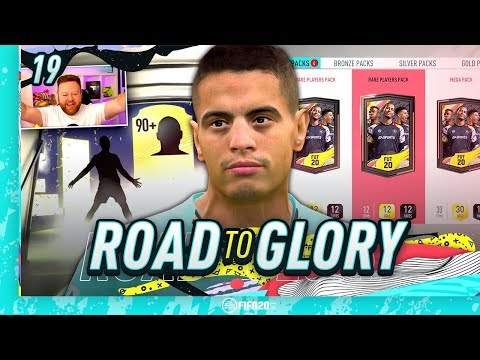 FIFA 20 ROAD TO GLORY #19 - LUCKY RIVALS REWARDS!!