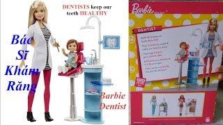 Đồ Chơi Nha Sĩ Khám Răng Cho Bé 🍎 BoBo Kids 🍎 Barbie Dentist