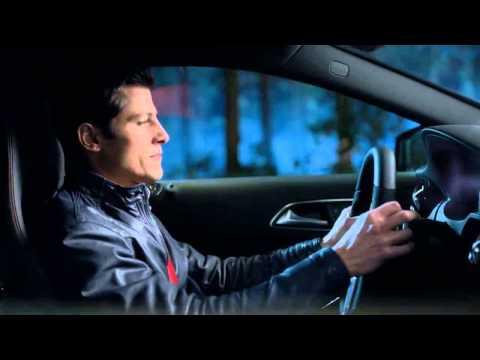 Reklama Mercedes Klasa A  - 3 kroki w bok... proszę