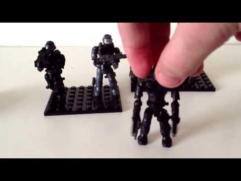 Mega Bloks/Lego Call Of Duty Seal Team Review