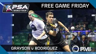Squash: Free Game Friday - Grayson v Rodriguez - World Championship 2015