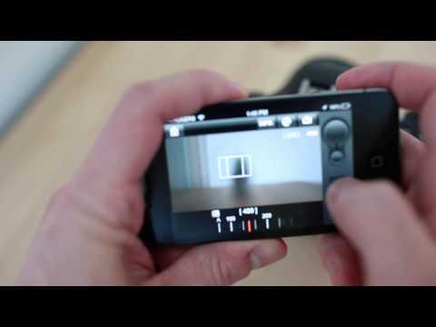 Canon 6D Wi-Fi + EOS Remote App Demo