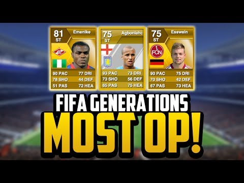 FIFA Generations   MOST OVERPOWERED PLAYERS EVER! w/ EMENIKE!