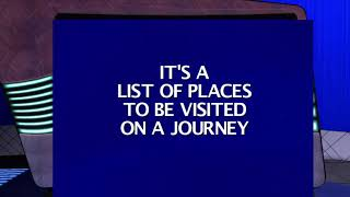 Surprise Game Show Winner (Jeopardy)