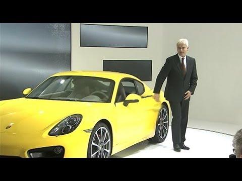 Мировая премьера нового Porsche Cayman в Лос-Анжелесе, 2012