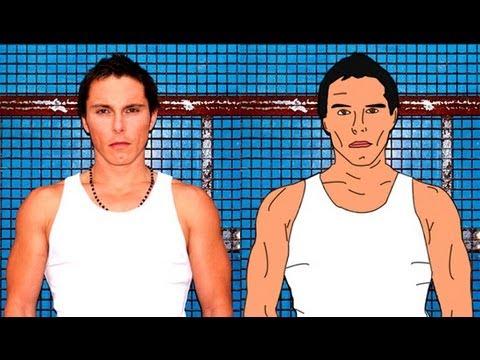 Видео как нарисовать человека в Фотошопе
