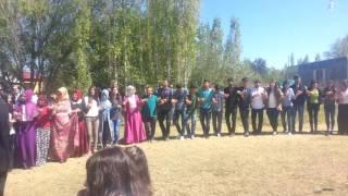 Barış müzik (HacıAğa) köyü, mükemmel bir halay