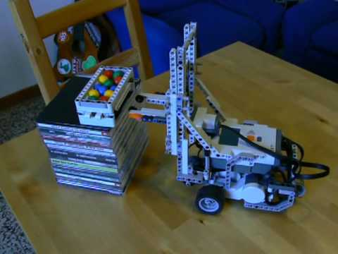Forklift Lego Mindstorm NXT 2.0