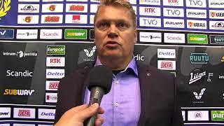 14.09.2017 Lukko vs. Jukurit: valmentajan analyysit