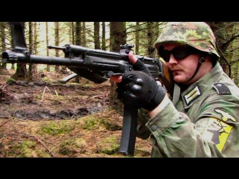 WW2 MP44! L85. PPsh-41 Airsoft War Games Scotland HD