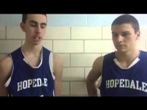 Postgame video: Hopedale's Evan Lerner and Jeremy Bacon