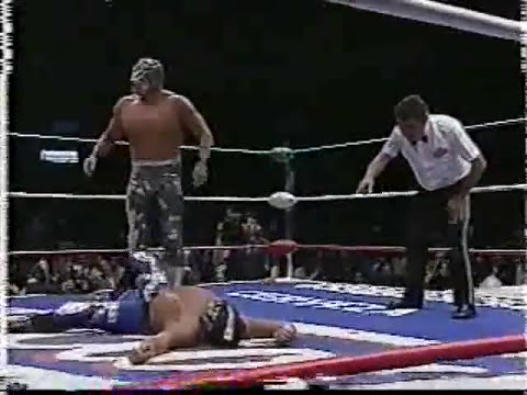 Shocker vs Mr Niebla vs Vilano 3 vs Atlantis CMLL 66 Aniversario 8 99