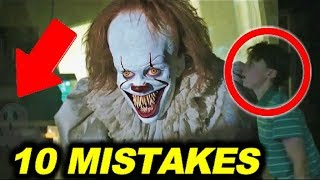"""10 BIGGEST MISTAKES in """"IT"""" ( 2017 ) - 99% couldn't find the mistake"""