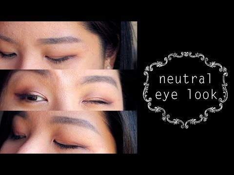 Everyday Neutral Eye Makeup for Monolid/Hooded Lids
