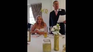 Father of the Bride Speech - Yorkshire EMOTIONAL