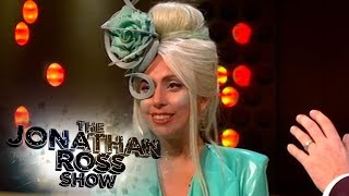 Lady Gaga Is Reunited With The Famous Meat Dress - The Jonathan Ross Show