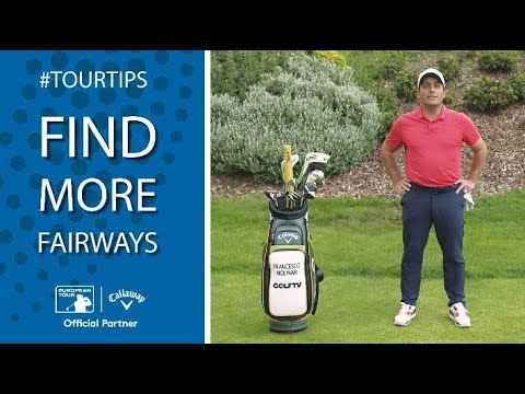 How to find more fairways with Francesco Molinari | Callaway Tour Tips