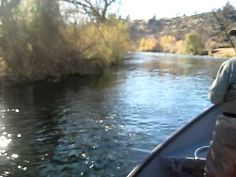 Klamath River fly fishing with Mike November 2009