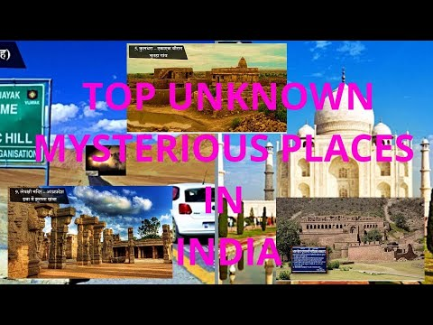 Top Unknown Mysterious Places In India | MUST WATCH | [HINDI]