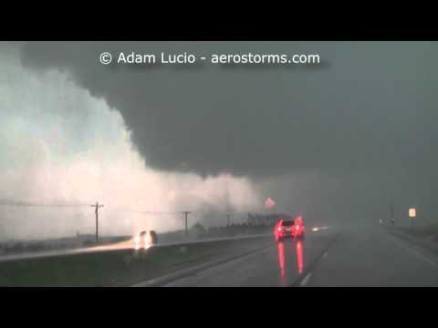 Tornado Near Clinton, Iowa April 9th 2015