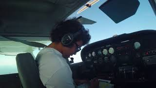 Flight Vlog - Solo Cross Country - 17N to KLNS to N57 to 17N - Cessna 172N - ATC Audio