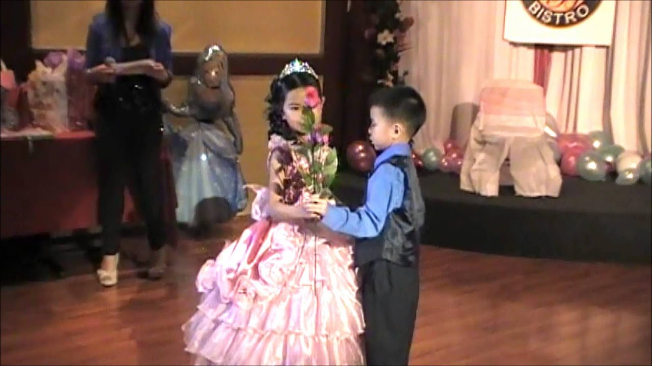 Claire's 7th Birthday - 7 Roses - YouTube