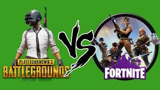 Pubg vs Fornite | Which Battle Royale Game is Best? 🔥