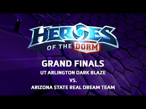 Heroes Of The Dorm - Grand Finals - UT Arlington Vs Arizona State University