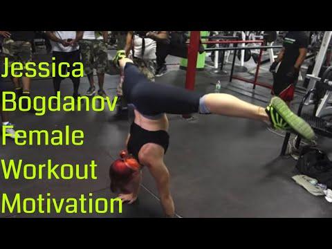 "Female Calisthenics - Jessica Bogdanov ""Women Workout Motivation"""