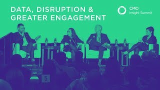 Data, Disruption & Greater Engagement | Marketing Panel