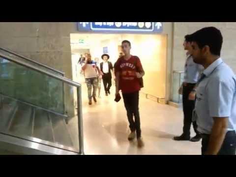 Code Red Alarm at Ben Gurion International Airport as Hamas Terrorists Fire Rockets at Israel