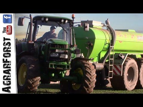Gülleausbringung 2017 | John Deere 6620 & Eckart Technik