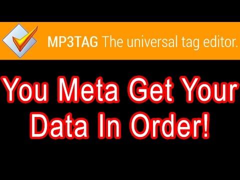 Edit WAV MP3 Metadata MP3tag freeware software