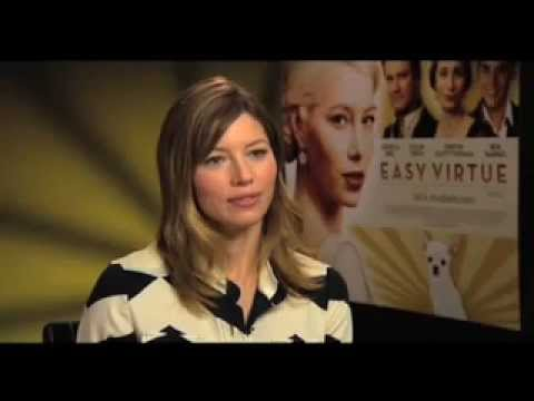 Easy Virtue - Colin Firth and Jessica Biel Interview