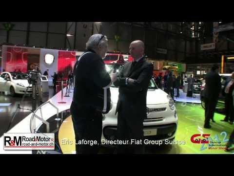 Salon Auto Genève 2012 Fiat Group Suisse français