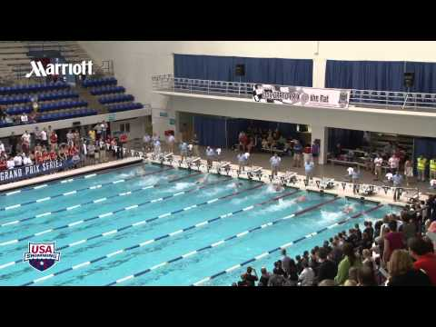 Men&#039;s 100m Freestyle A Final - 2012 Indianapolis Grand Prix