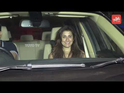 Shilpa Shetty   Preity Zinta   Suniel Shetty And Others At Screening Of Loveyatri | YOYO TV Hindi