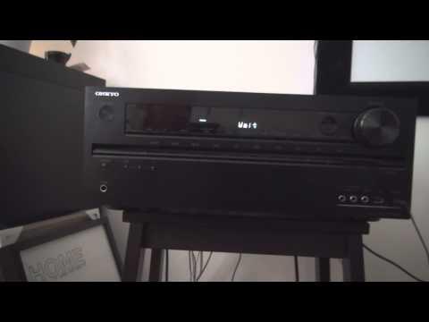 Onkyo TX-NR509 problem. no sound?