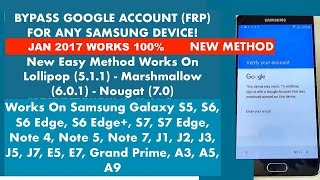 [EASY STEPS] Bypass / Remove Google Account (FRP) For Any Samsung Galaxy Device | November Update