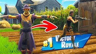 Defaults TROLLEN als VOGELVERSCHRIKKER! - Fortnite Nederlands