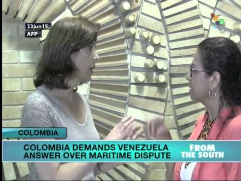 Colombia Protests Venezuela's Maritime Boundary Claims
