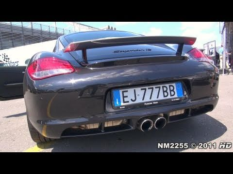 Porsche Cayman R Sound with PSE - Start Up & Revs