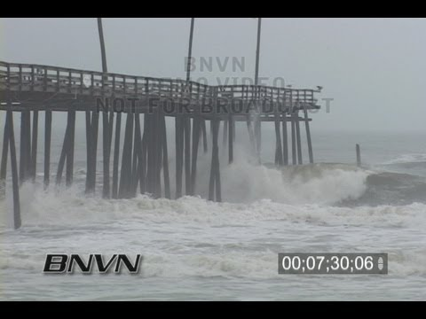 4/15/2007 Cape Hatteras Nor'Easter Big Waves Flooding