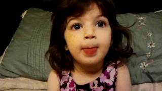 Maira 2 year old cute little baby with different expression in urdu funny