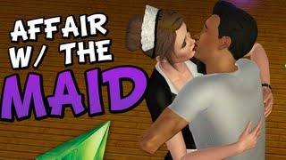 AFFAIR WITH THE MAID - BEST AFFAIR EVER! (Sims 3)