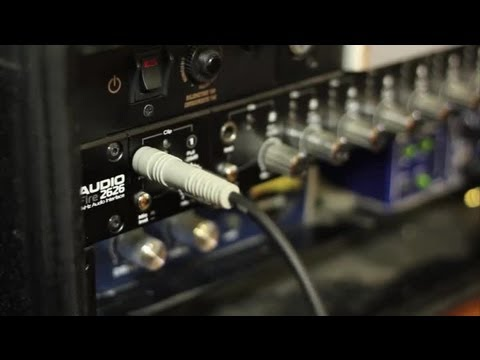 How to Put a Telephone Line Into an Audio Mixer : Audio Digital Media